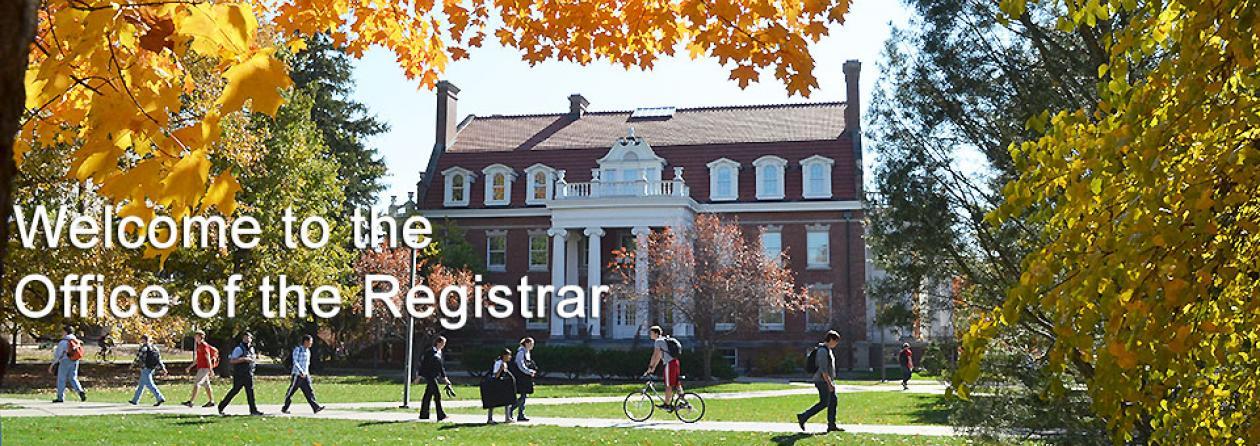 Registrar Fall