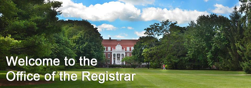 summer registrars office